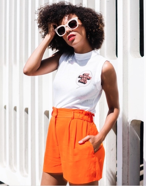 Shop the latest @grasiemercedes in , FRAME Muscle Shirttail Tee