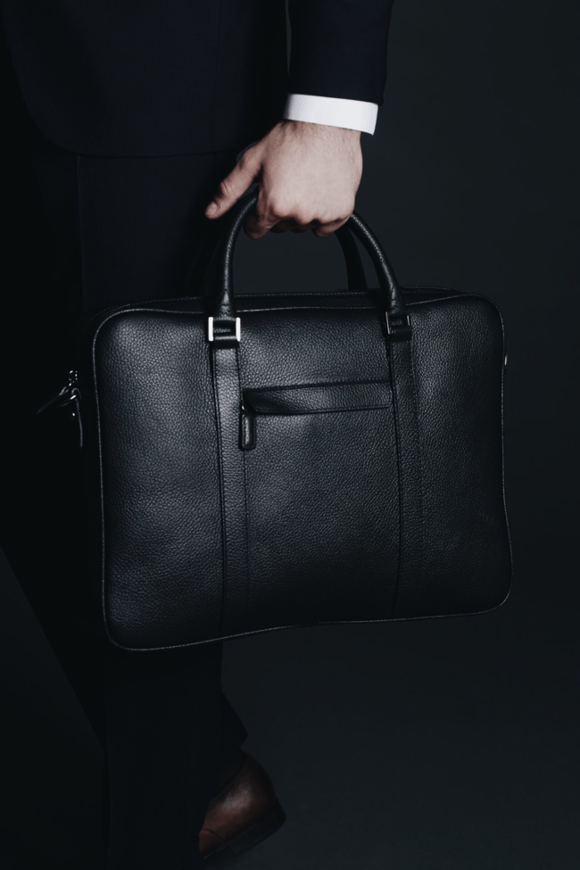 Shop the latest @a.bridgefarmer in Jack Spade, Jack Spade Men's Barrow Leather Slim Briefcase