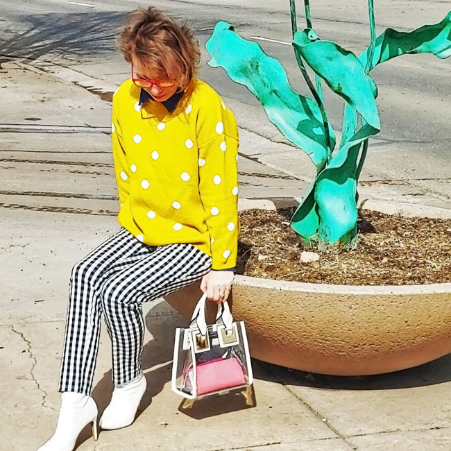 Shop the latest @jtouchofstyle in Forever21, High-Rise Gingham Pants