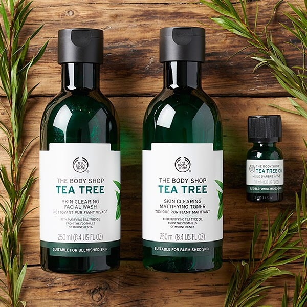 Shop the latest @stlkeditors in The Body Shop, Tea Tree Oil