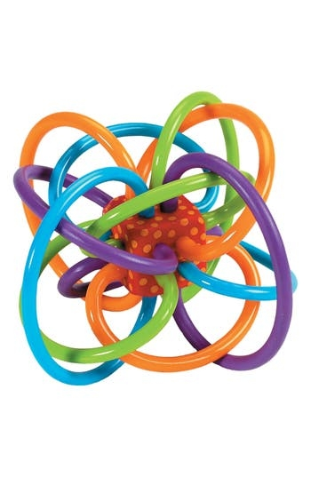 Infant Winkel Teether Rattle Toy by Manhattan Toy
