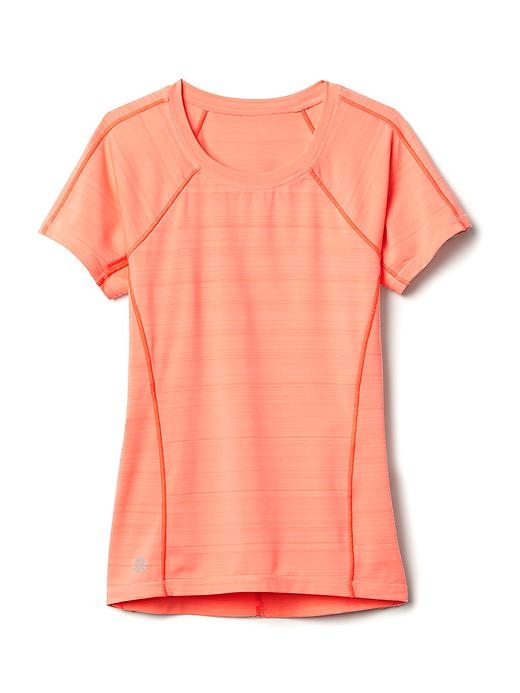 Girl Sunkissed Tee Size M/8-10 - Melon shock by Athleta