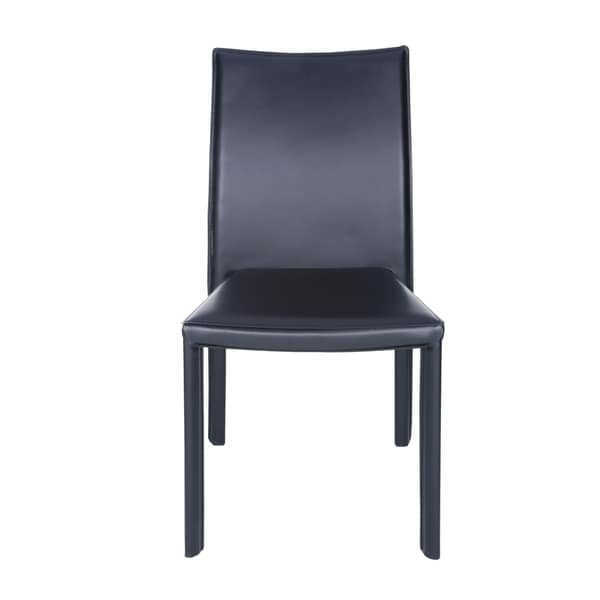 Ebba Stacking Chair in Black (Set of 4) by Euro Style