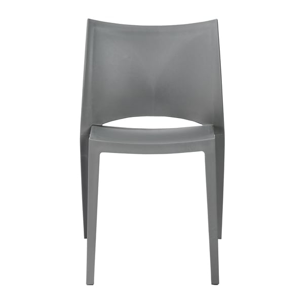 Leslie Side Chair in Gray (Set of 4) by Euro Style