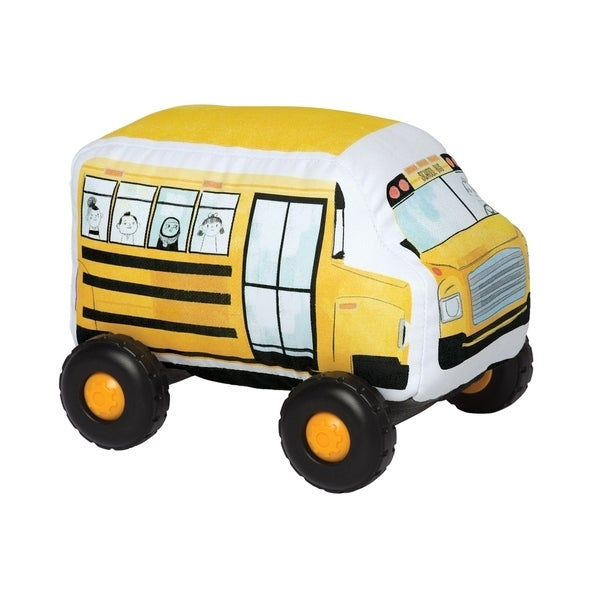 Bumpers School Bus Toy Vehicle by Manhattan Toy