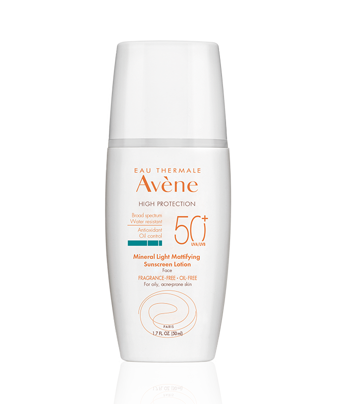 MINERAL Light Mattifying Sunscreen Lotion SPF 50+ (Face) by Avène