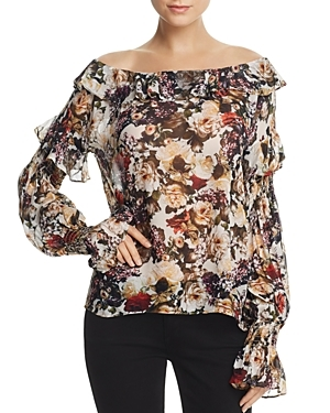 Floral-Print Off-the-Shoulder Top by Bailey 44