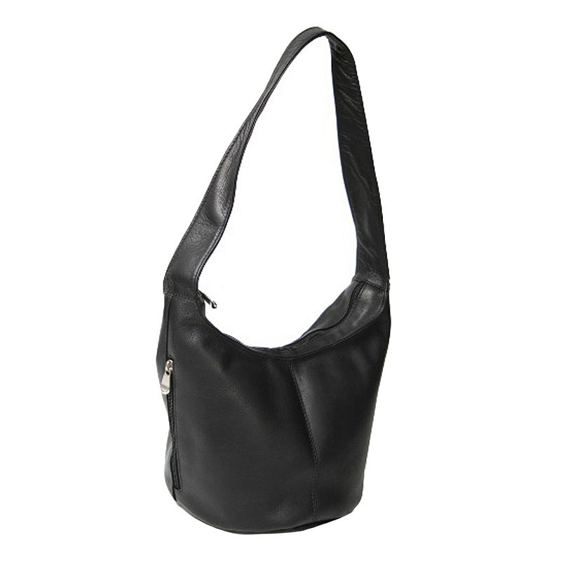 Vaquetta Hobo Bag, Women's, Black by Royce Leather
