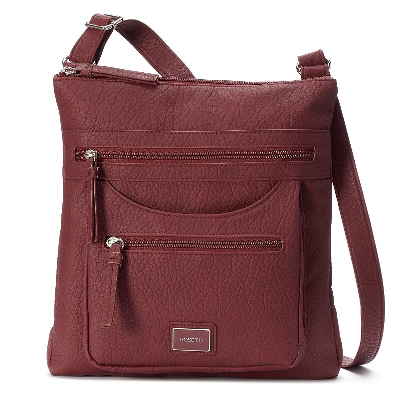 Crossbody Bag, Women's, Dark Red by Rosetti