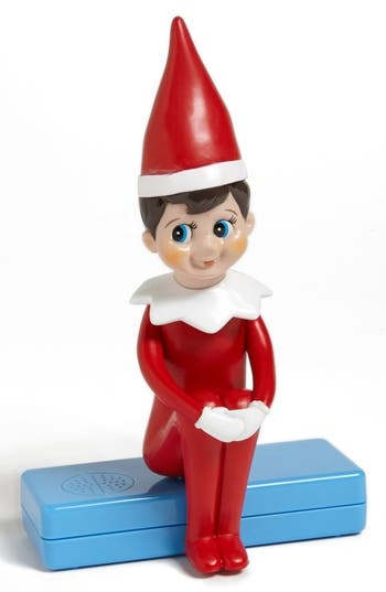 Play hide-and-seek with an impish, musical elf for a fun, holiday twist on a classic family game. Style Name: Pressman Toy 'The Elf On The Shelf - Musical Hide & Seek' Game. Style Number: 970012. Available in stores.