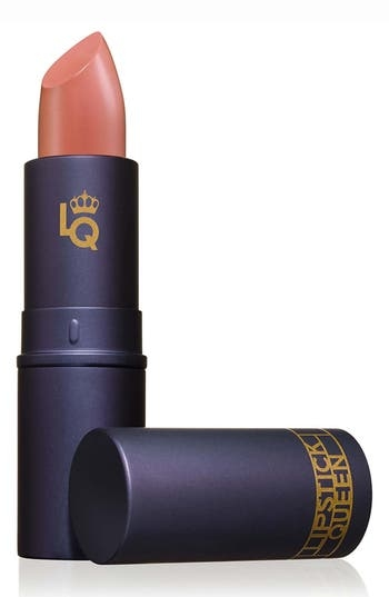 What it is: Lipstick Queen founder Poppy King designed Sinner to be the ultimate full-coverage matte lipstick with 90% pigment. What it does: Sinner takes creaminess to a whole new level. Its formulation glides on, lasts beautifully and feels great on your lips. Each shade has been meticulously designed to be the ultimate in its category. How to use: Apply straight from the bullet. Style Name: Space. nk. apothecary Lipstick Queen Sinner Lipstick. Style Number: 586201. Available in stores.