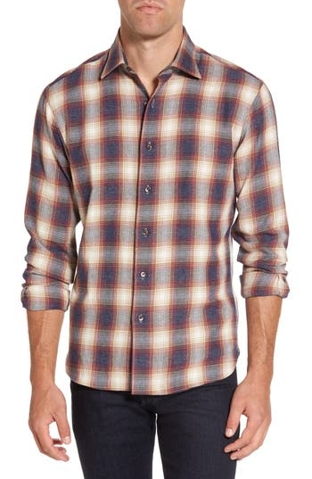 Classic plaid patterns a soft flannel sport shirt cut in a slim fit that looks equally cool worn open or buttoned up. Style Name: New England Shirt Co. Slim Fit Plaid Sport Shirt. Style Number: 5417132. Available in stores.