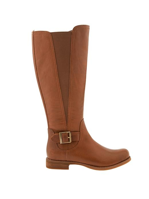 Now everyone can wear the classic equestrian boot with a built-in stretchy gusset to accommodate calves of all sizes.