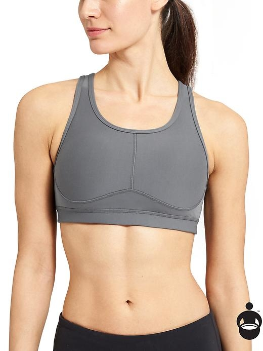 The ultimate run bra to give you supreme shape and support with zoned compression and Sculptek technology.