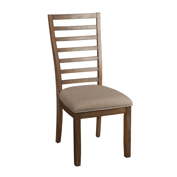 Slater Side Chair        Chair Design: Side Chair   Chair Type: Dining Chairs   Material: Wood   Assembly: Assembly Required   Set Size: Single   Back Style: Ladder Back   Color: Brown             Assembly Required