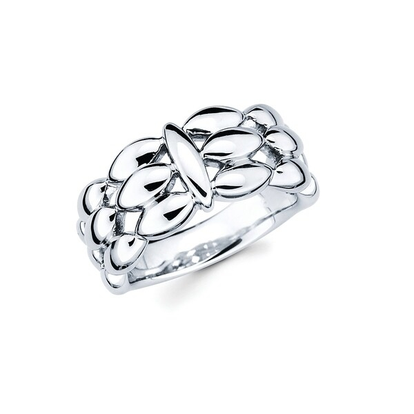 This Gorgeous and uniquely designed 925 Sterling Silver Openwork Fashion Ring is going to be the ring you reach for every time. This go-to and universal Ring is great for an evening out, special occasion or everyday wear!    Metal information and dimensions:    Metal: 925 Sterling Silver  Finish: High Polish  Style: Ring, Fashion Ring   Ring dimensions: Width - 10mm  Shank - 4mm     All weights and measurements are approximate and may vary slightly from the listed information.           All measurements are approximate and may vary slightly from the listed dimensions.     Click here for help finding your ring size.