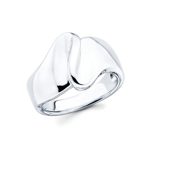 This Gorgeous 925 Sterling Silver Wave Fashion Ring is going to make a big splash in your jewelry collection. This Beautiful Ring is great for an evening out, special occasion or everyday wear!    Metal information and dimensions:    Metal: 925 Sterling Silver  Finish: High Polish  Style: Ring, Fashion Ring   Ring dimensions: Width - 15mm  Shank - 4mm     All weights and measurements are approximate and may vary slightly from the listed information.           All measurements are approximate and may vary slightly from the listed dimensions.     Click here for help finding your ring size.