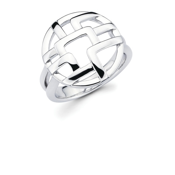 This Gorgeous and one-of-a-kind 925 Sterling Silver Openwork Circle Ring is truly eye-catching. This unique ring is great for an evening out, special occasion or everyday wear!    Metal information and dimensions:    Metal: 925 Sterling Silver  Finish: High Polish  Style: Ring, Fashion Ring   Ring dimensions: 17mm X 17mm  Shank - 3mm     All weights and measurements are approximate and may vary slightly from the listed information.           All measurements are approximate and may vary slightly from the listed dimensions.     Click here for help finding your ring size.