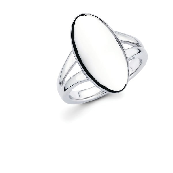 This Gorgeous and uniquely designed 925 Sterling Silver Oval Fashion Ring is going to have everyone asking where you go it! This go-to and universal Ring is great for an evening out, special occasion or everyday wear!    Metal information and dimensions:    Metal: 925 Sterling Silver  Finish: High Polish  Style: Ring, Fashion Ring   Ring dimensions: 20mm X 10mm   Shank - 3mm     All weights and measurements are approximate and may vary slightly from the listed information.           All measurements are approximate and may vary slightly from the listed dimensions.     Click here for help finding your ring size.