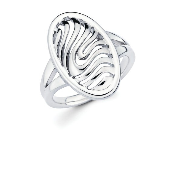 Click here for help finding your ring size.   This beautiful 925 Sterling Silver Oval Ring features openwork waves throughout. This irresistible ring is great for an evening out, special occasion or everyday wear!  Available in full sizes 5-9.    Metal information and dimensions:    Metal: 925 Sterling Silver  Finish: High Polish  Style: Ring, Fashion Ring, Plain Silver Ring  Ring Dimensions: 21mm X 13mm  Shank - 2mm      All weights and measurements are approximate and may vary slightly from the listed information.           All measurements are approximate and may vary slightly from the listed dimensions.     Click here for help finding your ring size.