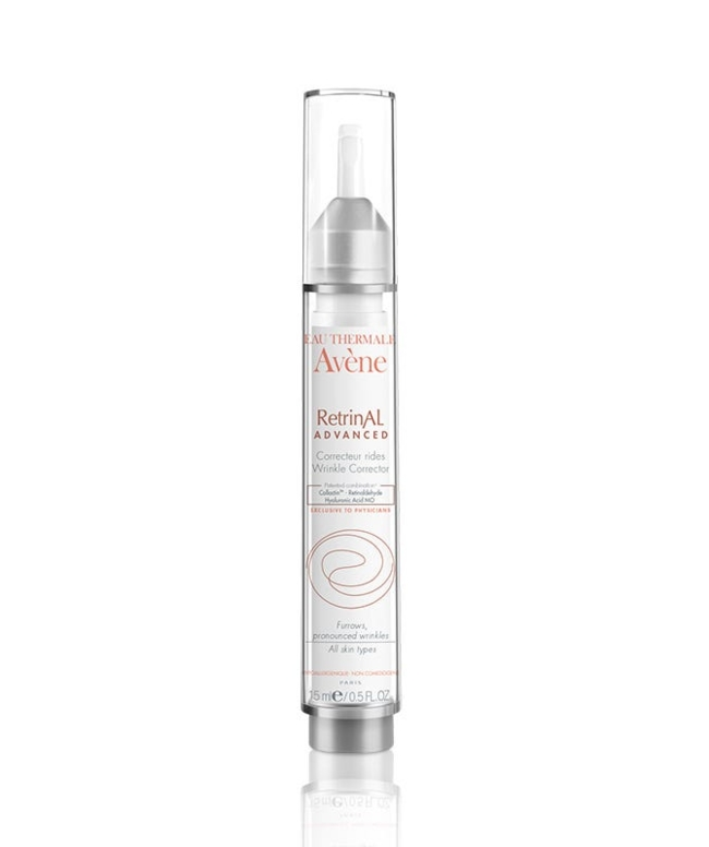 Targeted intensive concentrate visibly corrects the most pronounced wrinkles and fills deep furrows. The skin appears plumper, firmer and more radiant.