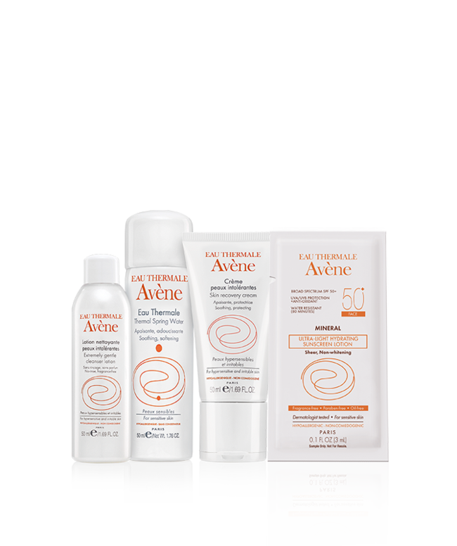 Soothe hypersensitive and irritated skin with these essential products formulated to calm irritation and protect the skin barrier.