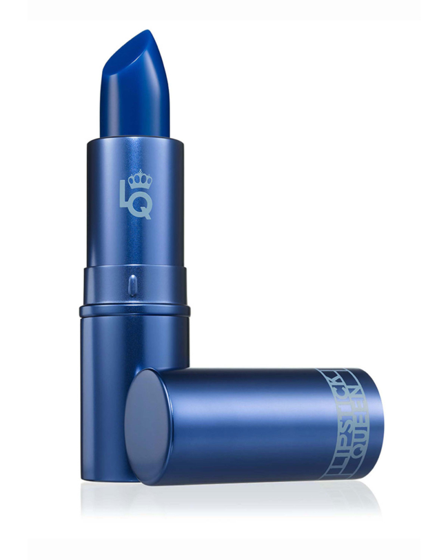 Lipstick Queen Hello Sailor Lipstick DetailsMake waves with Hello Sailor, the head-turning, nautical blue that transforms into an ultramodern and flattering sheer blueberry mauve. Using Lipstick Queen's famous color-changing technology, this formula reacts with your pH to instantly change into your own unique shade, that complements any skin tone. Enriched with Vitamin-E and Shea Butter, this must-have lip color glides on silky smooth and leaves lips soft, supple, and moisturized. The cool be.