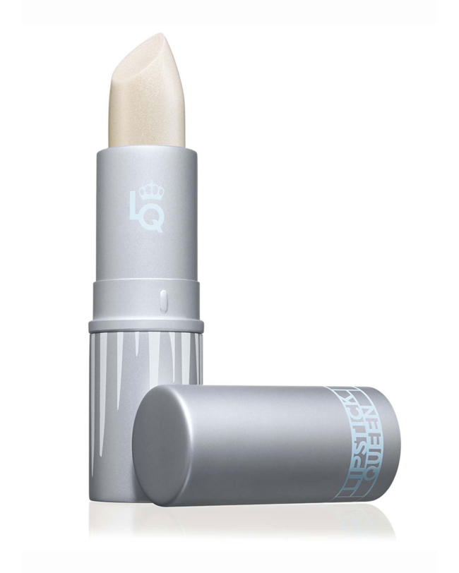 Lipstick Queen Ice Queen Lipstick DetailsIlluminating Ice Queen is a translucent ivory transformer that's flecked with warm, alluring, golden pearls to highlight your lips. This luscious lip topper looks stunning when worn alone, or layered over your favorite Lipstick Queen hue, to add an icy glimmer and instantly multiply your lipstick wardrobe. Enriched with nourishing Vitamin E and Shea Butter, the silky formula leaves lips super-hydrated, soft and sleek, with a beautiful sheer, snowy fini.