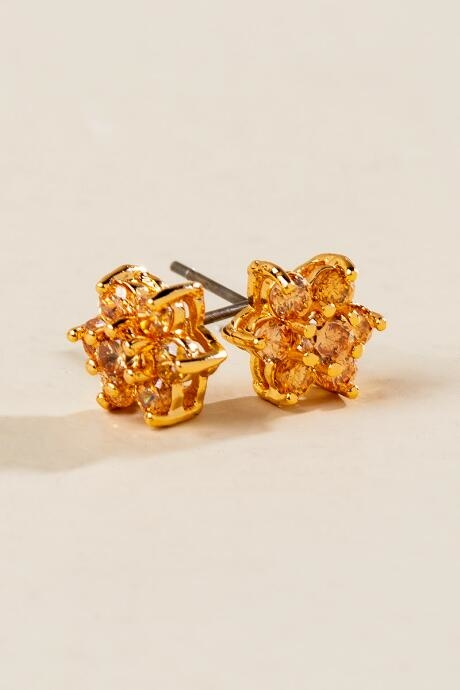 The Emma Star Studs are small star cluster earrings.