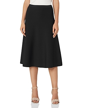 Reiss interprets the A-line skirt in flowing style, a look that flaunts a midi length that's so of the moment.