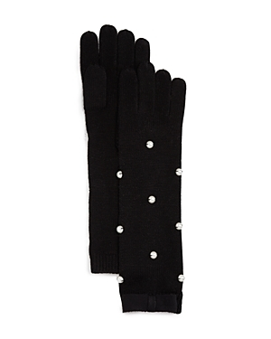 kate spade new york Embellished Merino Wool Gloves-Jewelry & Accessories