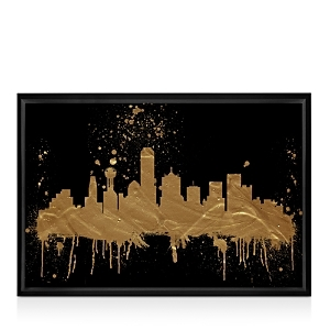 Eye-catching on its own or as part of a gallery wall, this stretched canvas from Oliver Gal makes an artful statement.