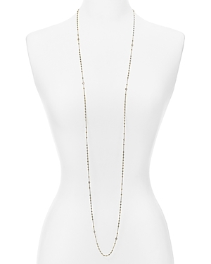 Looped around or layered with other pieces, Nadri's chain necklace shines with a modern mix of delicate beads and sparkling stones.
