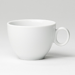 Fine porcelain dinnerware, serveware and accessory pieces made in Germany designed by Thomas for Rosenthal. White color with subtle raised white lines. Perfect for everyday use or entertaining. Dishwasher and microwave safe.