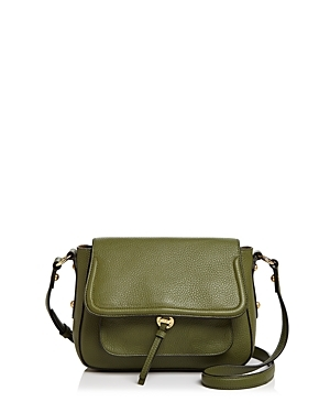 Annabel Ingall Cece Leather Messenger-Handbags