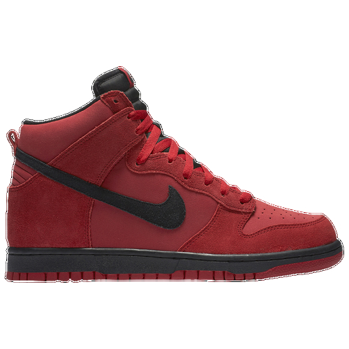 Take your look to the next level with a the iconic Nike Dunk Hi. High-top silhouette for ankle support and Nike Dunk style. Drop-in EVA sockliner provides lightweight cushioning. Non-marking rubber in a sleek cupsole design for traction and durability. Perforations offer breathability.