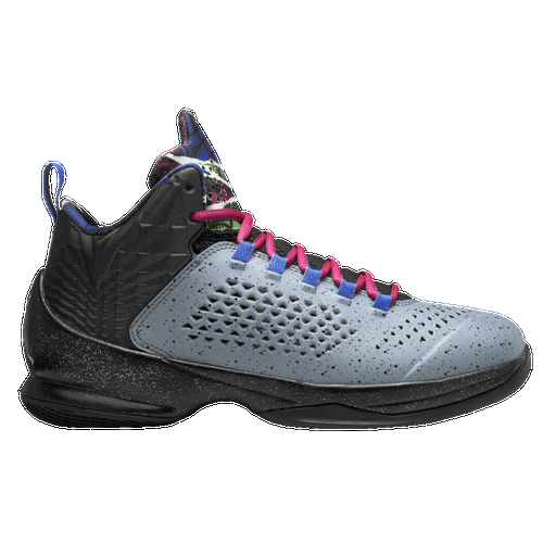 One of the greatest offensive players of this era requires a shoe that can handle his power around the hoop, his explosive on the wing, and his elusiveness in the open floor. Enter the Jordan Melo M11. Molded collar and quarter upper optimizes the fit to give your ankles the support they need during quick cuts. Flight Web fit system wraps your foot for lockdown. Partial bootie construction for a sock-like fit that makes your foot feel secure as you move on the court. Cushioned heel notch enhances lockdown, so your feet feel locked in as you elevate off the floor. IP midsole with FlightPlate technology harnesses the energy of every step for explosive liftoff. Forefoot Nike Zoom unit for low-profile, responsive cushioning that gives you great bounce off the floor. Solid rubber outsole with engineered multidirectional pattern for traction.