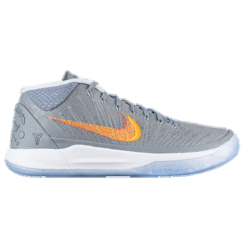 The Kobe A.D. line continues with this lightweight low-profile shoe that delivers the speed and agility you need to dominate your opponents. Whether you're on a fastbreak or getting back on defense, this basketball shoe helps propel you to a whole new level. A breathable mesh upper offers comfort while Lunarloan foam and a Zoom Air unit allow for explosive plays. A rubber outsole and traction pattern help prevent slipping, so you can make all of your quick cuts, jab steps, and utilize your full offensive repertoire just like the Black Mamba. Breathable mesh upper with molded foam details offer cushioning and comfort. Half-length mesh bootie enhances ventilation and gives a comfy fit. Flywire cables help lock the foot down. Low-top design offers a full range of motion. Lunarlon foam midsole with flex grooves offers soft, flexible cushioning. Zoom Air unit in the heel offers responsiveness with every step. Rubber outsole provides traction on a variety of surfaces. Micro-tread pattern provides grip for quick cuts and prevents slipping.