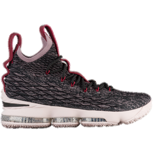 The LeBron 15 offers premium innovation that's built specifically for the game's best player. LeBron's game is continually evolving, so this shoe features the next generation of lightweight textile construction and an advanced cushioning system, both of which are designed to fit the exact needs of the greatest player in the world. Simply put, this basketball shoe is fit for a king. Will you rule the court? Engineered upper offers strategic stretch, advanced lockdown, and durability. Max Air and Zoom Air units combine to create a fully articulated cushioning system. Full-bootie construction creates a secure fit. Injected Phylon foam midsole provides a lightweight feel and resilient cushioning with every step. Full-length rubber outsole provides durable traction on a variety of surfaces. Flex grooves in the forefoot offer flexibility.