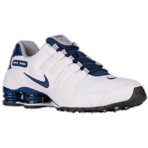 The Nike Shox NZ is designed for the sneaker enthusiast who loves the ride and responsive feel of classic running shoes, but wants a lighter, faster, and more nimble ride. The upper is made of a fitted one-piece construction for a sleek profile. The heel features a Nike Shox™ four column cushioning unit absorbs shock. The outsole is made of BRS 1000 carbon rubber with a modified circular Waffle for comfortable, daily traction. Wt. 9.5 oz.