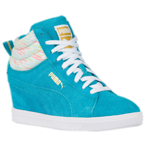 Inspired by the iconic PUMA suede and retains a sporty yest fashionable finish. Offered now in a cleaner version and seasonal colors. Leather, suede and or textiles upper. Rubber outsole for traction.