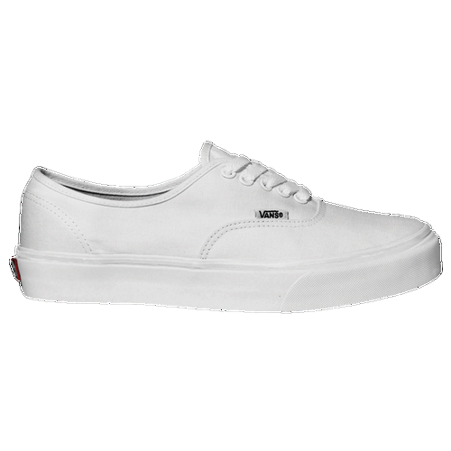 The Vans Authentic casual skate shoe is THE original classic. The shoe that started it all for Vans has remained a favorite since 1966. Never duplicated and never out of style, this deck shoe features a canvas upper with laces and a Vans' classic Off the Wall sole.