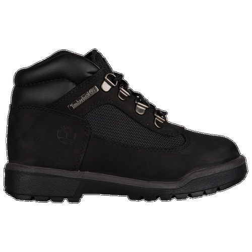 Work hard. Play rough. These boots can take it. Premium full-grain and nubuck leather upper with a padded collar features durable, waterproof nylon canvas side panels. Waterproof seam-sealed construction with 400 grams of insulation keeps you dry and warm. Toe bumper offers added protection and durability. Embossed Timberland tree logo on the side. Rubber outsole with lugs makes for supreme traction and durability.