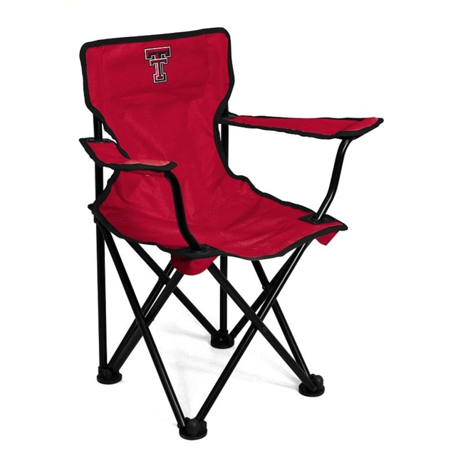 This Texas Tech Red Raiders chair from Logo Brand is perfect for your fan-in-training. Team graphics on the front and back showcase your toddlers' team pride. They'll love to use this chair for tailgating or relaxing. Includes: chair & carry bag 12 x 22 x 20.5 For ages 1-3, up to 50 pounds Polyester, steel Imported Shop our full assortment of Texas Tech Red Raiders items here. When you're a fan, you're family! Size: One Size. Color: Multicolor. Gender: Unisex. Age Group: Kids. Material: Steel/Polyester.