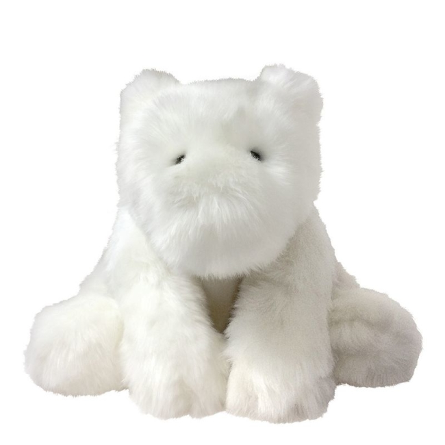 Make nap time or play time more comfortable for your little one with this Luxe Ivy Jumbo Bear plush toy by Manhattan Toy. Gift Givers: This item ships in its original packaging. If intended as a gift, the packaging may reveal the contents. Supersoft plush fabric Weighted bottom 13H x 12W x 12D Age: newborn & up Imported Model No. 153820 Size: Large. Color: Multicolor. Gender: Unisex. Age Group: Toddler.