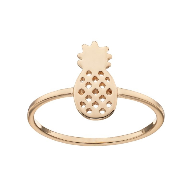 Tasteful style is easy to achieve with this sweet LC Lauren Conrad pineapple ring. Ring Details Width: .5 in. Metal: brass Plating: gold tone Additional details: nickel free Not appropriate for children 14 years old and younger. Size: 7. Gender: Female. Age Group: Adult.