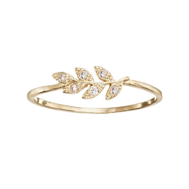 Showcase unique style with this lovely LC Lauren Conrad leaf ring. Ring Details Width: .4 in. Not appropriate for children 14 years old and younger. Size: 7. Color: Gold. Gender: Female. Age Group: Adult.