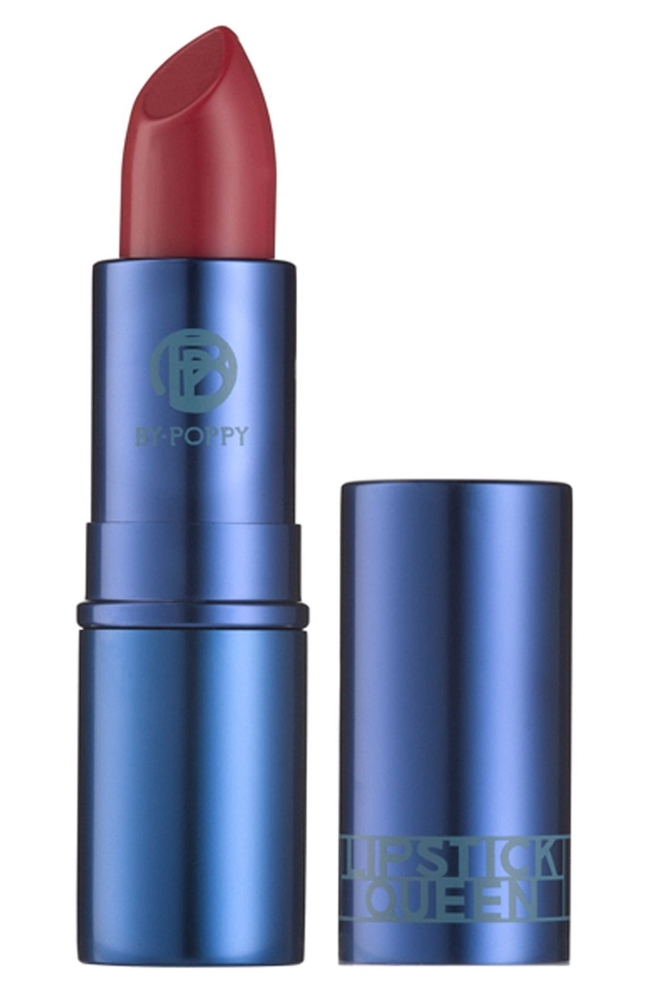 What it is: A lipstick that is a gentle step up from nude, restoring natural youthful beauty to your lips without being overbearing. Who it's for: All skin tones. What it does: This sheer and moisturizing lipstick is enriched with antioxidant vitamin E, moisturizing shea butter and emollient aloe vera gel. It's the ultimate shade to wear with denim, as it perfectly offsets the blue in the fabric and lights up your whole face. How to use: Apply straight from the bullet. Style Name: Space. nk. apothecary Lipstick Queen Jean Queen Lipstick. Style Number: 586046. Available in stores.
