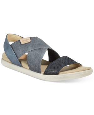 A go-to casual accent any day of the week. Ecco's Damara 2 sandals feature an effortless crisscross strappy design with comfort details for all-day wear. (Clearance)