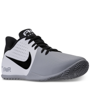 Work on your game with the Nike Air Behold Low Basketball Sneakers. It's lightweight, breathable upper, low-profile cushioning and secure fit make this model perfect for honing your craft.